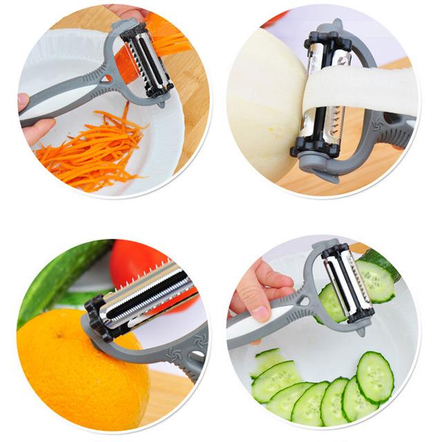 Slicer Cutter Carrot Potato Peeler Melon useful gadgets