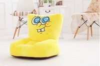 Lovely Shy Plush Spongebob Sofa Toy Creative Cartoon Spongebob Sofa Doll Birthday Gift About 54x30x10cm