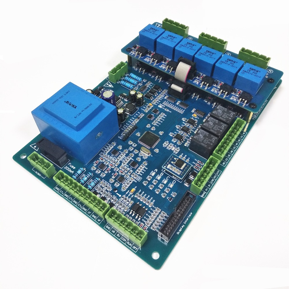 Plc Control Scr Power Regulator St36c Rs485 Interface Dc0 5v Voltage High Alarm Driver Circuit Design Regulation Thyristor Firing Trigger Card Board In Regulators Stabilizers From