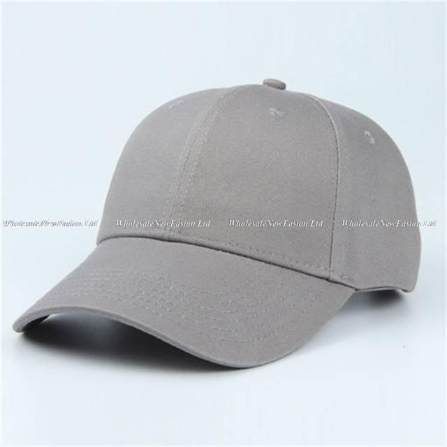 placeholder 6pcs Classic Plain Red Cotton Baseball Caps 2018 Brand Men  Blank Orange Base Ball Hats Women f6f57fe6f2a