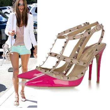 pointed pumps with ankle strap | Gommap Blog