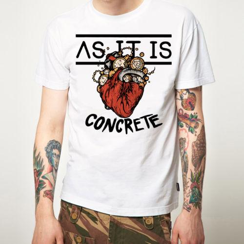 T Shirt Websites Cotton O-Neck As It Is T Shirt New Merchandise Pop Punk Short-Sleeve Mens Shirts Popular Style Man T-Shirt