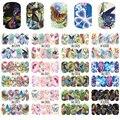 STZ Mariposa Belleza 12 Diseños/Sistemas de la Cubierta Completa de Transferencia de Agua Calcomanías de Uñas de Arte Manicura DIY Sticker Wraps A1297-1308 Sprint