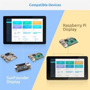 Image 4 - ЖК дисплей с сенсорным экраном SunFounder, 10,1 IPS, HDMI 1280*800 для Raspberry Pi 4B 3B + 3B 2B LattePanda Beagle Bone