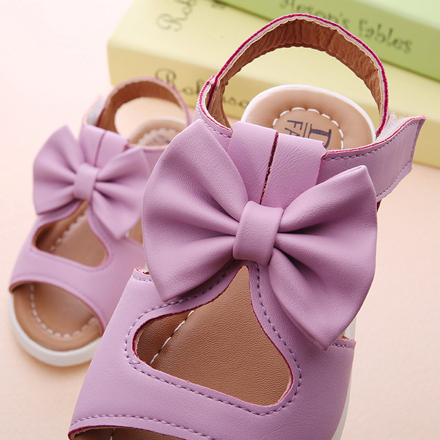 Kids Girl Shoes Sandals Summer Children Sandals Fashion Bowknot Girls Flat Pricness Shoes Zapatos Verano Sandals For Girls 3