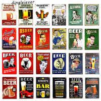 DL- The Beer Prayer Vintage Metal Tin Sign Retro Bar Home Pub Shop Wall Decor