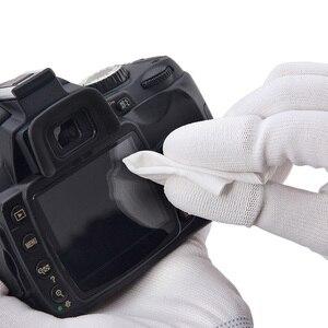 Image 2 - Салфетка для чистки линз VSGO из микрофибры, 20 шт., салфетки для чистки линз, салфетка для чистки оптических линз DSLR