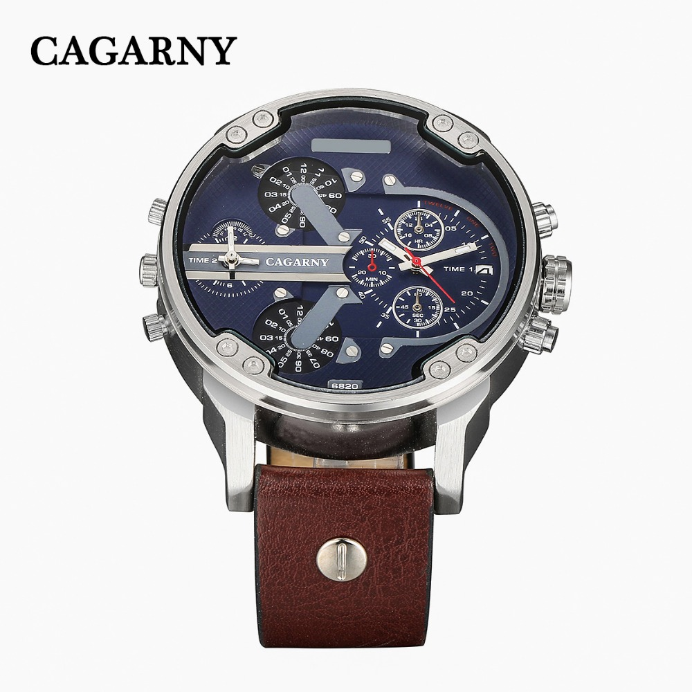 dual time zones military men's watches   (18)