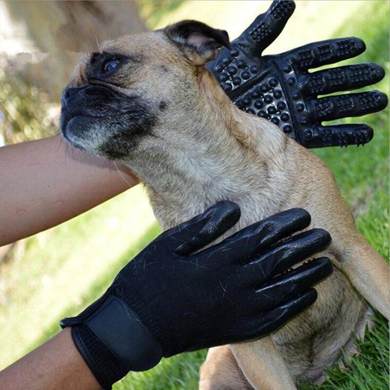 Guantes De Cepillado Con Peine De Gato Perro De Mascota Peine De