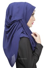 7 Colors Muslim Hijab Islamic Women Hijab Shawls Full Cover Cap Islamic Head Wear Hat Underscarf For Muslim Lady