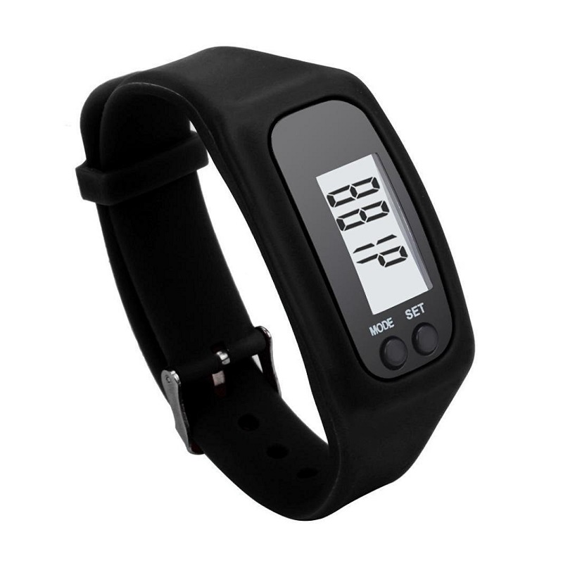 Olahraga Pedometer Berjalan Langkah Kontra Berjalan Jarak Calorie - Kebugaran dan binaraga - Foto 4