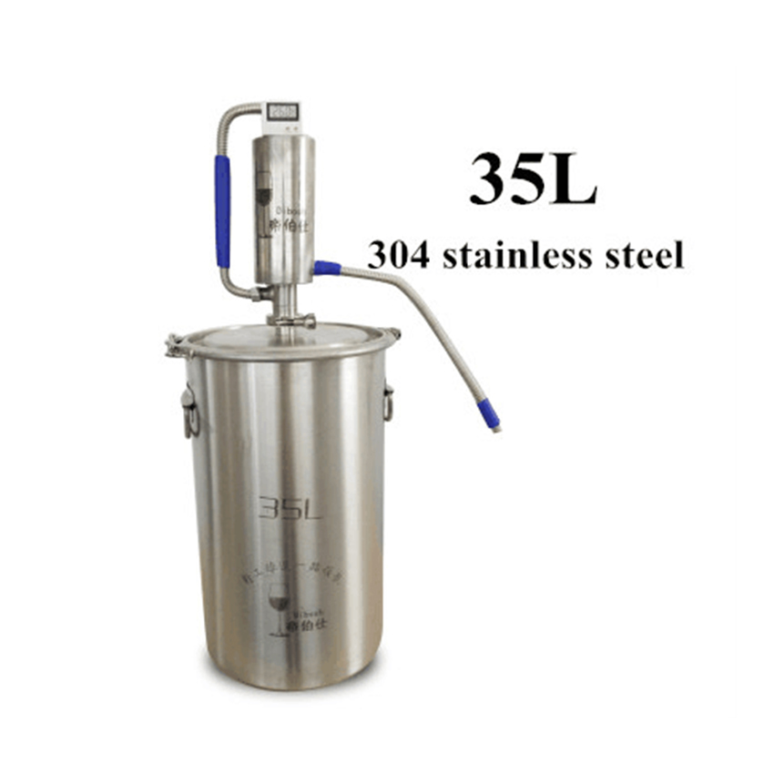 35L Mini Macchina di Distillazione Moonshine Homebrew Distillatore Birra Alcol Mashine Distillatore-in Distillatori da Casa e giardino su  Gruppo 1