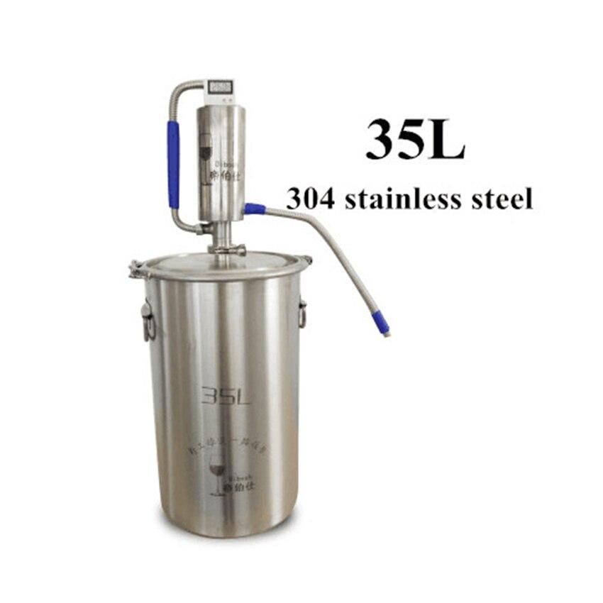 35L Mini Macchina di Distillazione Moonshine Homebrew Distillatore Birra Alcol Mashine Distillatore