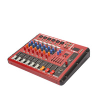 Hot Selling Professional 6 Channel Audio Mixer