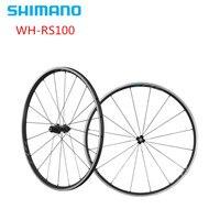 Shimano rs100 WH RS100 rower szosowy 8 9 10 11 prędkość aluminium koła Clincher 700c w Koła roweru od Sport i rozrywka na