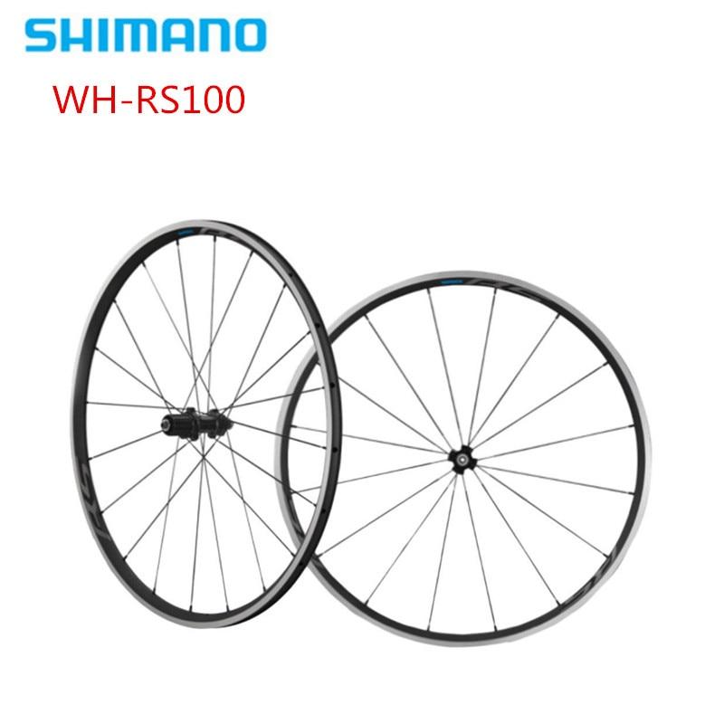Shimano rs100 WH-RS100 vélo de route vélo 8 9 10 11 vitesses en aluminium roue 700c