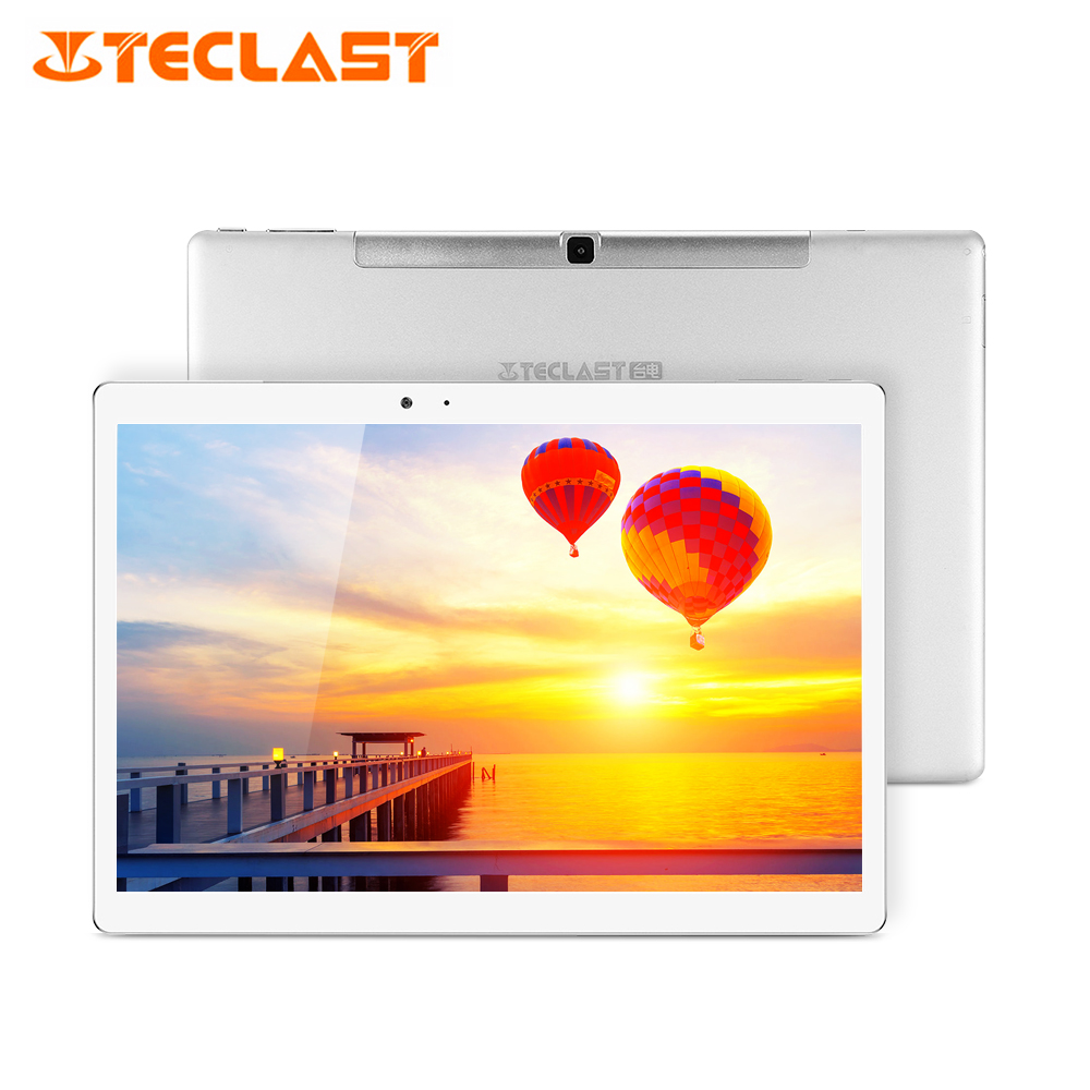 "Teclast Master T10 Android 7.0 10.1"" Tablet PC MT8176 Hexa Core 4GB RAM 64GB ROM 8.0MP+13.0 MP HDMI 2560*1600 Fingerprint IPS"