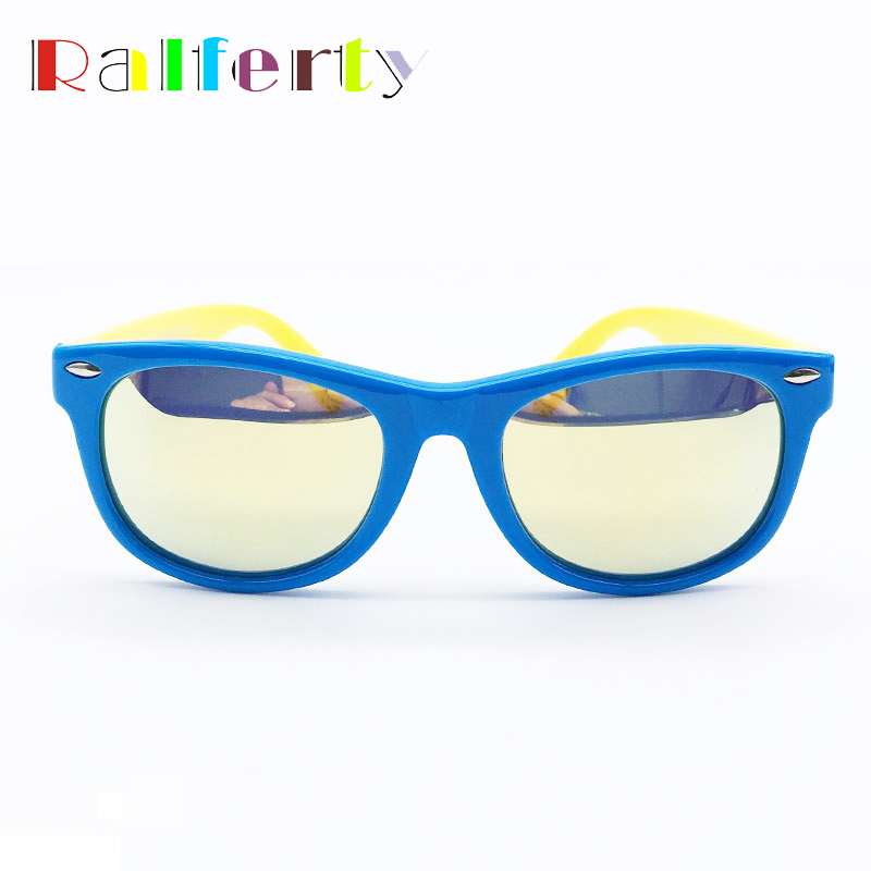 869cc2a184 Ralferty Children Kids TR90 Polarized Sunglasses Girls Boys Mirrored Sport  Sun Glasses Polaroid Shades Goggle Oculos Infantil-in Sunglasses from  Mother ...