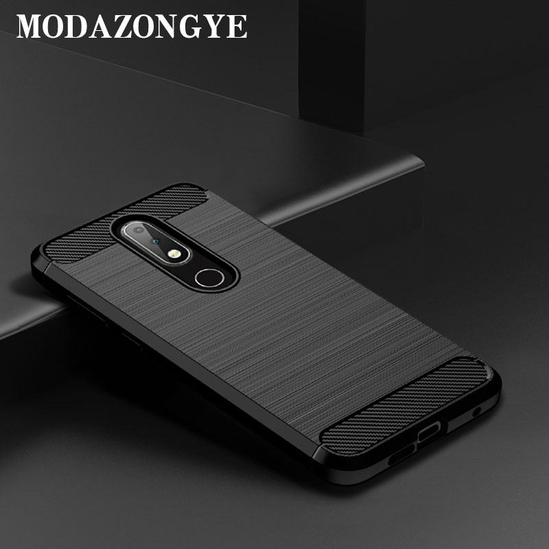 Nokia 6.1 Plus Case Nokia X6 2018 Case Silicone Back Cover Phone Case For Nokia 6.1 Plus TA-1103 Nokia6.1Plus Case NokiaX6 2018