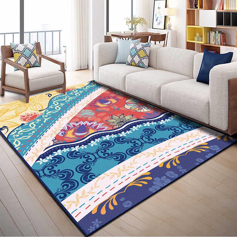 Коврик Zeegle в скандинавском стиле для гостиной Bedoom напольный коврик нескользящий ковер детская комната рядом коврик диван Настольный коврик дверной коврик