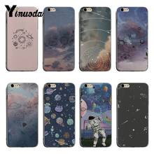 Yinuoda Cute planet spaceship hand drawn High Quality Classic Phone Case For iPhone X XS XR XsMax 8plus 6 6s 7 7plus Mobilecover(China)