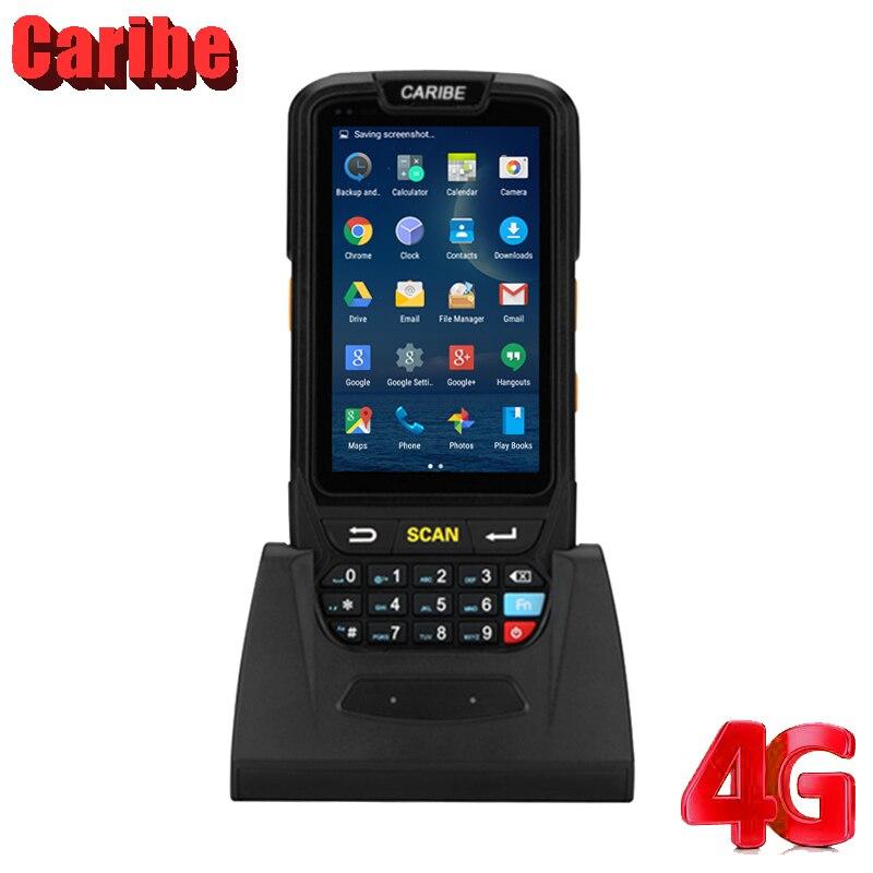 Wireless Laser Barcode Scanner Handheld Data Terminal PDA High Scaned Speed PDA for Logicstics Dock