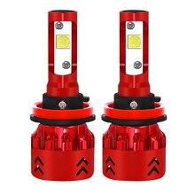 2 шт. CREE XHP50 чипы H7 светодио дный H4 лампы H8 H11 9005 HB3 9006 HB4 9012 H16 автомобиля светодио дный фар лампы 60 Вт 8000LM Авто противотуманных фар огни