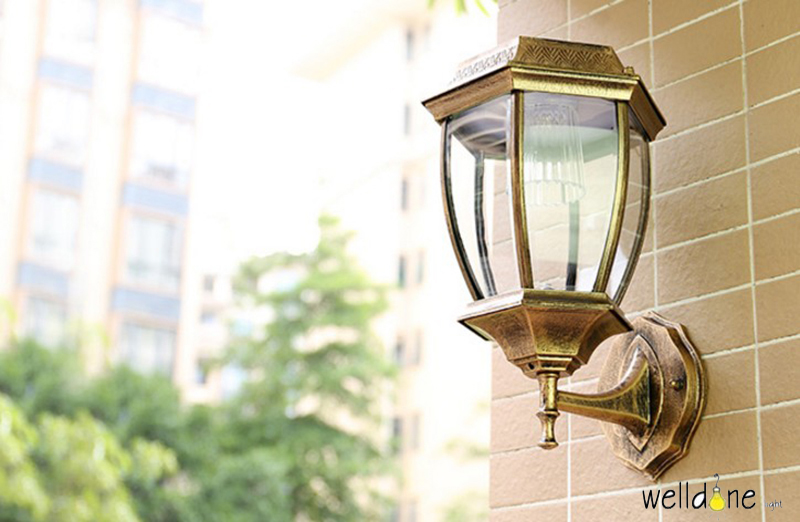 HTB1Gn1ObILJ8KJjy0Fnq6AFDpXa6 - LED water proof alluminum black/copper color  wall lamp for garden europea style good quality free shipping