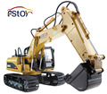 RC Excavator 15CH 2.4G Remote Control Constructing Truck Crawler Digger Model Electronic Engineering Truck Toy