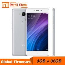 Оригинальный Xiaomi Redmi 4 Pro 3 ГБ Оперативная память 32 ГБ Встроенная память 5.0 «1920×1080 FHD 4 г Mobile телефон Snapdragon 625 Octa core Процессор 13MP Камера 4100 мАч