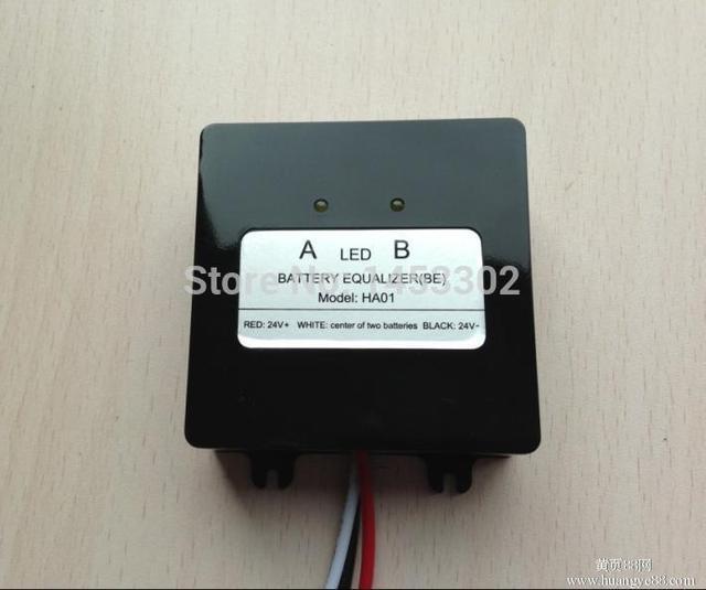 battery voltage equalizer balancer for 12V lead acid battery connected in series for 24v 36v 48v battery bank