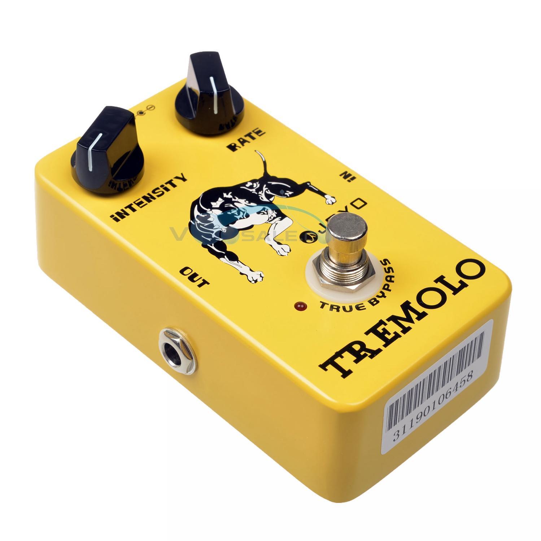 JOYO JF-09 Tremolo Effektləri Gitara Pedal Tompbox Sıxlıq - Musiqi alətləri - Fotoqrafiya 5