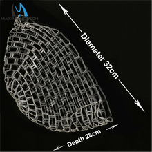 Maximumcatch Fishing Net Dia 32cm Depth 28cm Rubber Net Replacement Bag For Fishing Landing Net