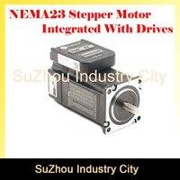 ЧПУ NEMA 23 интегрированный шаговый двигатель с водителем DIP switches 57 HS шаговый двигатель с низким нагревом и шумом для станка с ЧПУ!