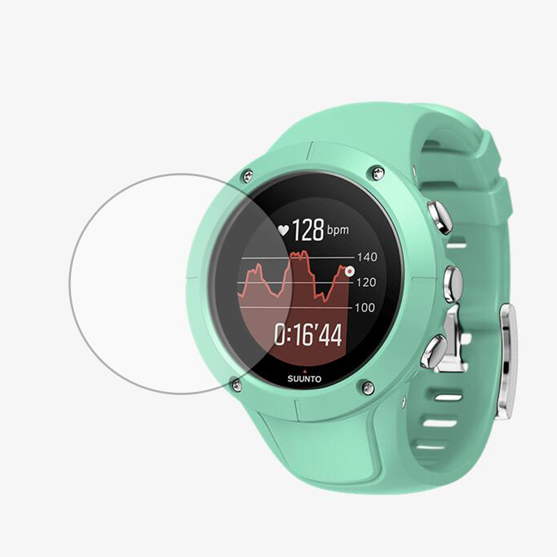 Tempered Glass Protective Film Clear Guard Protection For Suunto Spartan Trainer Wrist HR Sport Watch Screen Protector Cover