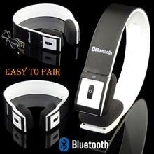 Reducción de ruido auriculares bluetooth estéreo inalámbrico bluetooth 3.0 ajustable auricular con el mic para el iphone para el ipad para tablet pc