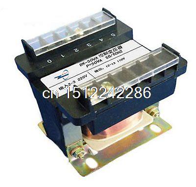 (1)Input AC 220V Output AC 110V Single Phase Volt Control Transformer 50VA Power 1 input ac 220v output ac 110v single phase volt control transformer 50va power