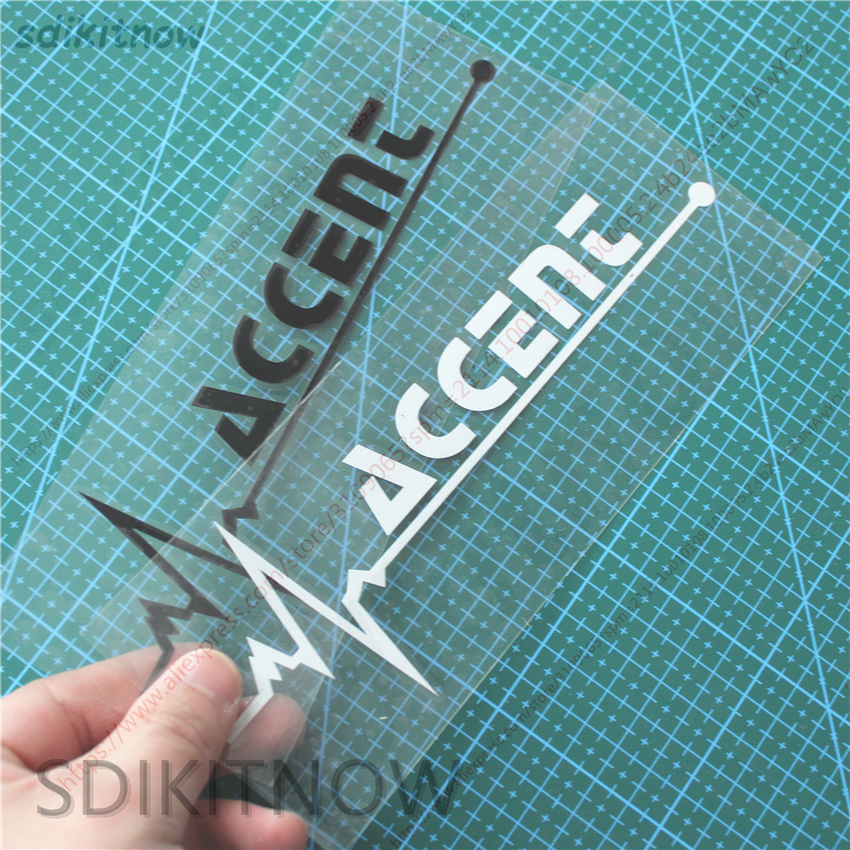 1pc Heart Car Sports Decal Sticker Styling Windows Door Decoration For Hyundai Accent 2008 2007 2011 2012 2013 2018 Accessories