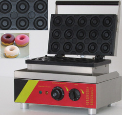 110v/220v electric 15 pieces commercial donut machine for sale