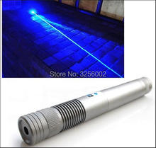 High Power Blue Laser Pointers 100000m 100w 450nm Flashlight Burning Match/Paper/Dry Wood/candle/black/Burn cigarettes+5 caps