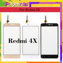 10Pcs/lot ORIGINAL For Xiaomi Redmi 4X Redmi4X Touch Screen Digitizer Panel Sensor Front Outer Glass 4x Touchscreen