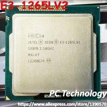 Original intel xeon E3-1265LV2 quad core 2.5 ghz 8 mb e3 1265lv2 lga1155 processador cpu hd gráficos 2500 E3-1265L v2 frete grátis
