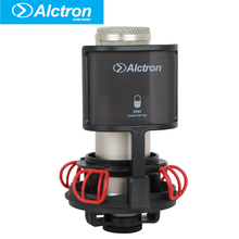 Alctron X50S Professional Large Diaphragm Studio Condenser Microphone with a detachable POP filter.