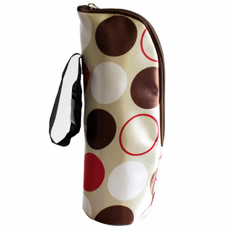 เด็กใหม่เด็กความร้อนขวดนมอุ่น Mummy Tote Bag Strollercover สำหรับขวดเครื่องดื่ม