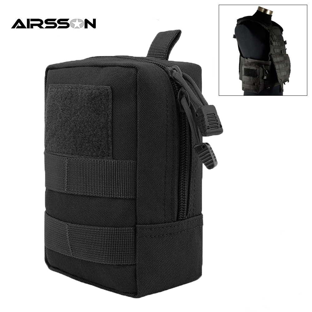 EDC Pouch Gadget-Belt Waist-Bag Military-Equipment Molle Utility Tactical Waterproof