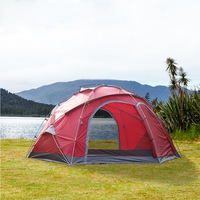 Luxury multi person large tent outdoor climbing park fishing grassland yurt canopy tent 1room with big space for 5 8persons