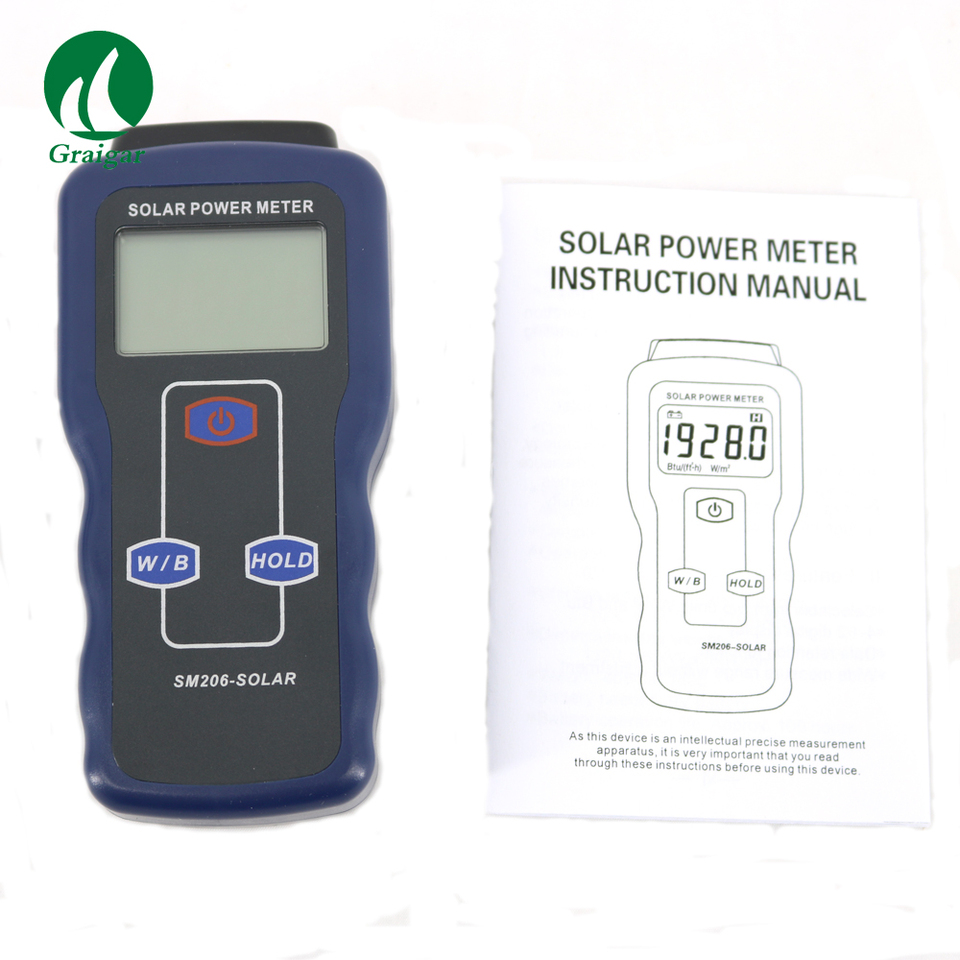 Business & Industrial SM206 Solar Power Meter Digital Radiation ...