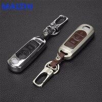 Zinc Alloy Leather Car Key Case Cover For Mazda 3 Mazda 6 Mazda 2 Mazda