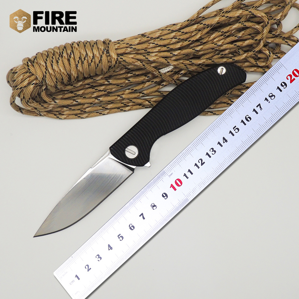 BMT 95 font b Tactical b font camping survival Folding font b Knife b font Ball