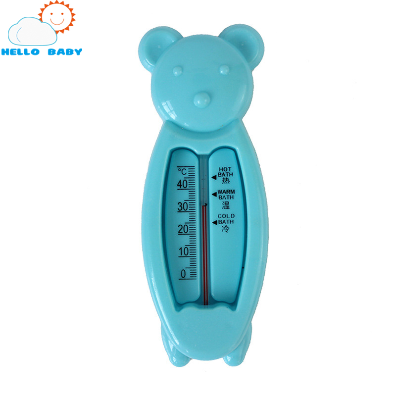 3 colors high quality security useful Floating Lovely Bear Baby Water Thermometer Float Baby Bath Toy Tub Water Sensor